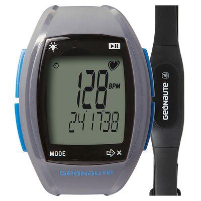 Montre et ceinture cardiofréquencemètre codée ONRHYTHM 310 gris