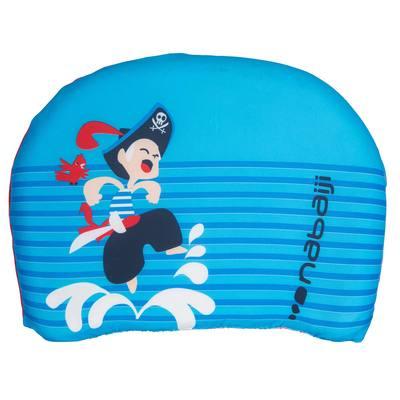 Planche de natation bleu à battements enfant avec imprimé