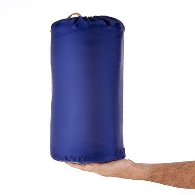 Sac de couchage de camping ARPENAZ 20° bleu