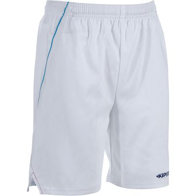Short football enfant F500 blanc