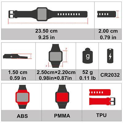 Montre et ceinture cardiofréquencemètre codée ONRHYTHM 310 blanche