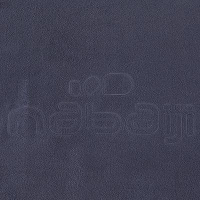 Serviette microfibre gris ultra compacte taille L 80 x 130 cm