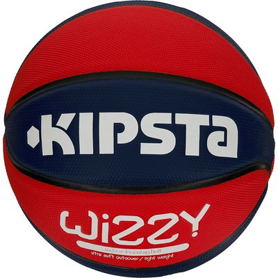 Ballon Basketball Wizzy Indoor T5 Rouge SL