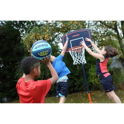 Ballon de basket enfant wizzy taille 5 bleu plus l ger jusqu 39 10 ans clubs collectivit s - Ballon basket decathlon ...