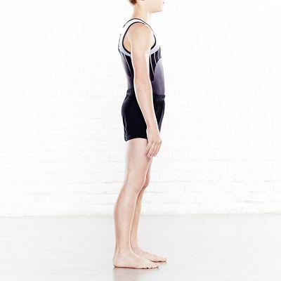 Short de Gymnastique Artistique Masculine (GAM) Noir