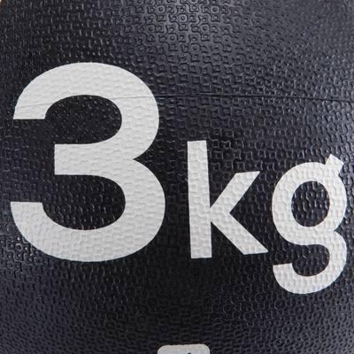 LESTE DE FITNESS ET MUSCULATION MEDECINE BALL 3 KG