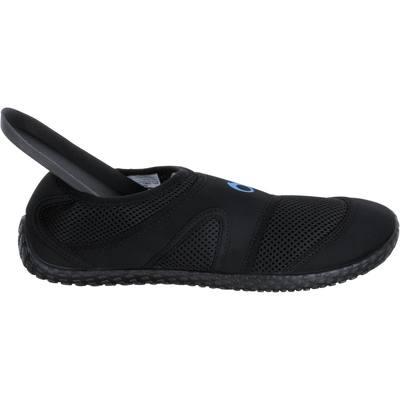 Chaussures aquatiques Aquashoes Homme 100 H Noir