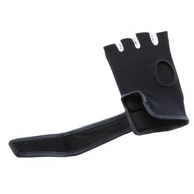 Mitaines de Boxe GDC 300 noir, entrainement sac de frappe