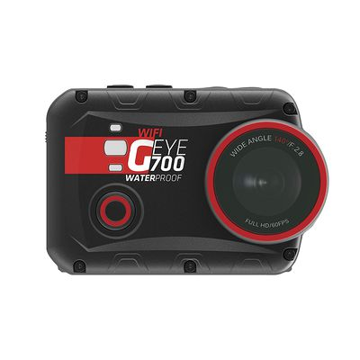 Caméra sportive G-EYE 700 FULL HD avec écran tactile.