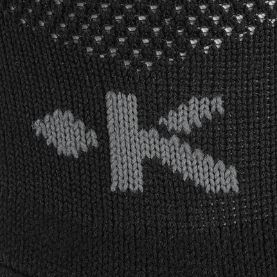 Chaussettes hautes de football adulte F500 noires