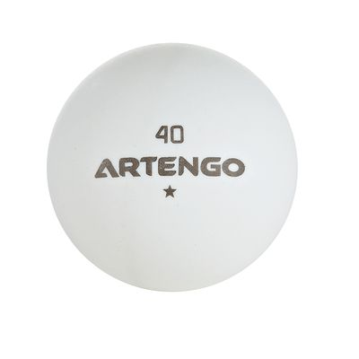 200 BALLES TENNIS DE TABLE ARTENGO FB 800