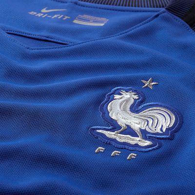 Maillot football adulte réplique FFF bleu