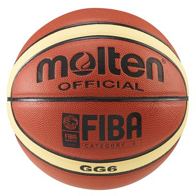 BALLON BASKET-BALL MOLTEN GG6X TAILLE 6 COMPETITION