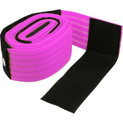 Filet de beach-volley extensible The Wiz Net violet