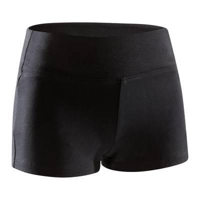 Mini-short de danse fille noir