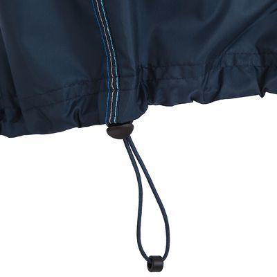 Veste Pluie Imperméable Randonnée Homme Rain-cut Zip Bleu