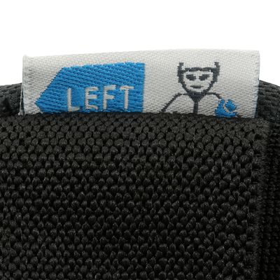 Set 3 protections roller skateboard trottinette adulte FIT 5 noir bleu