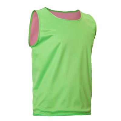 CHASUBLE RUGBY RÉVERSIBLE VERT/ROSE
