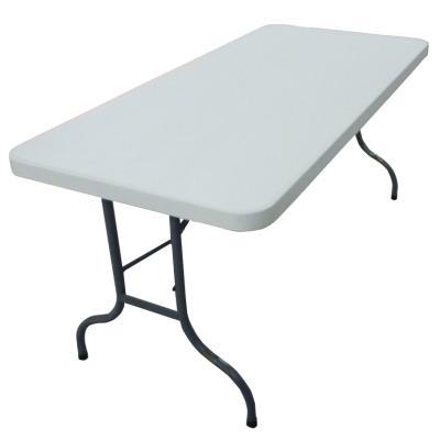 LOT DE 10 TABLES POLYETHYLENE 152X75