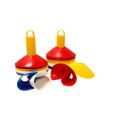 LOT DE MINI-COUPELLES DE SPORT EXTRA-SOUPLES 4,5 CM AVEC SUPPORT.