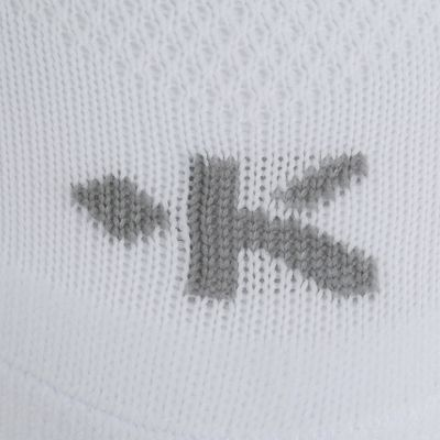 Chaussettes hautes football adulte F100 blanc