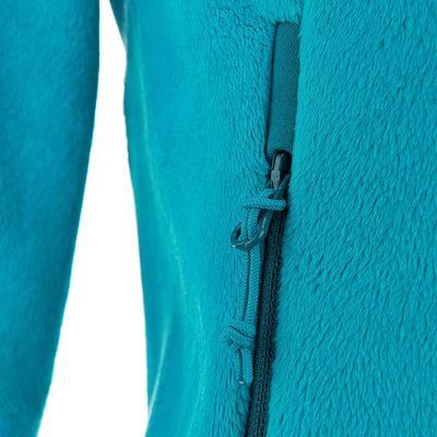 Polaire randonnée femme Forclaz 500 bleu