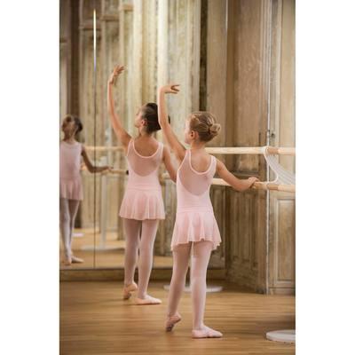 Justaucorps de danse classique bi-matière fille rose - Clubs ... 18597d24d61