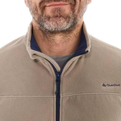 Polaire randonnée homme Forclaz 200 beige