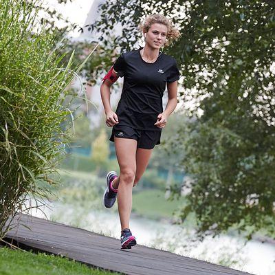 SHORT RUNNING FEMME KALENJI EKIDEN NOIR