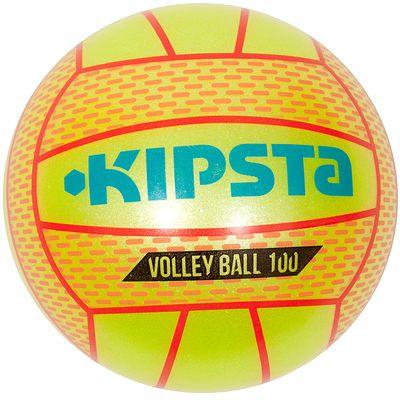 Mini ballon volleyball extérieur BV 100 jaune