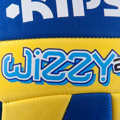 Ballon volleyball Wizzy 200-220g jaune bleu