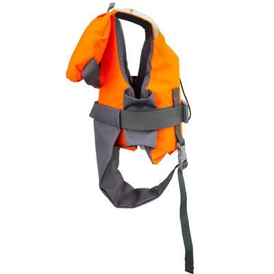 gilet de sauvetage mousse enfant lj 100n easy orange gris clubs collectivit s decathlon pro. Black Bedroom Furniture Sets. Home Design Ideas