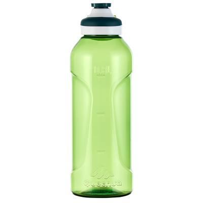 Gourde randonnée 500 bouchon ouverture rapide 0,8 litre plastique (Tritan) vert