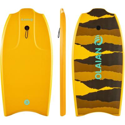 "Bodyboard 100 38"" orange livré avec leash"
