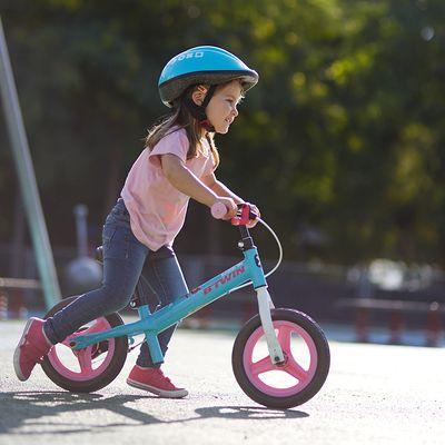 Draisienne enfant 10 pouces Run Ride Rose