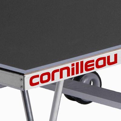 TABLE DE TENNIS DE TABLE SPORT 250 GRISE EXTÉRIEURE CORNILLEAU