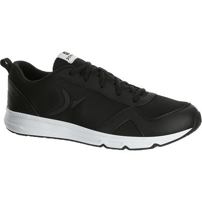 Chaussure fitness homme 360 COMFORT noir blanc