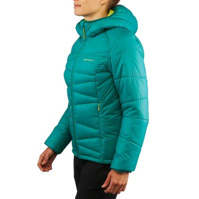 Doudoune randonnée femme X-Light 2 vert émeraude
