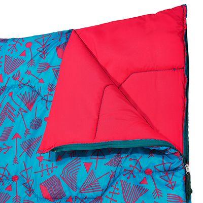 Sac de couchage enfant  de camping  / camp du randonneur ARPENAZ 20° bleu