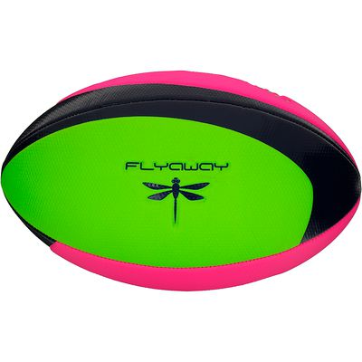 Ballon de rugby Wizzy Evolution vert et rose