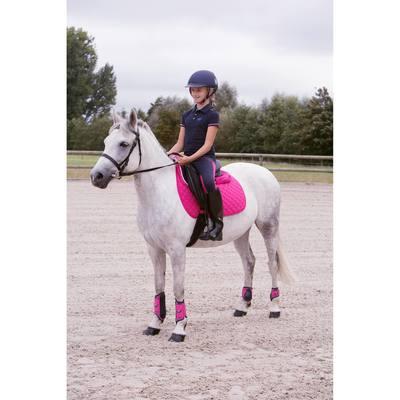 Filet + rênes équitation cheval et poney SCHOOLING cuir noir - Clubs ... c74621a00f7