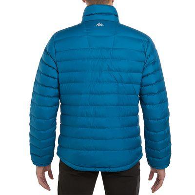 Doudoune randonnée homme Forclaz 700 bleu