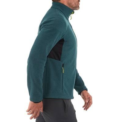 Polaire randonnée homme Forclaz 500 bleu