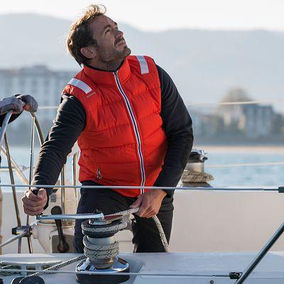 Gilet Flottant IZEBER Floating System Noir Chaud et Flottant Homme.