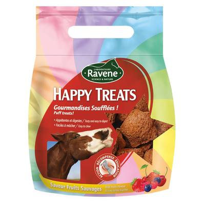 Friandises équitation cheval et poney HAPPY TREATS fruits sauvages - 200 GR