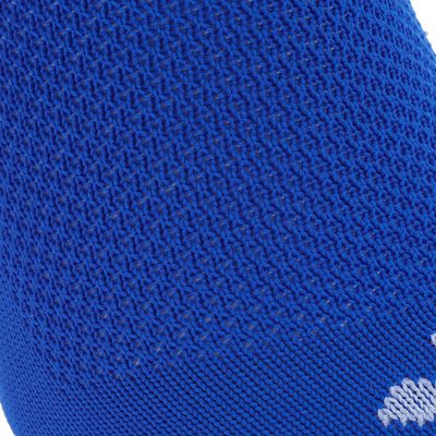 Chaussettes hautes football enfant F 100 bleu