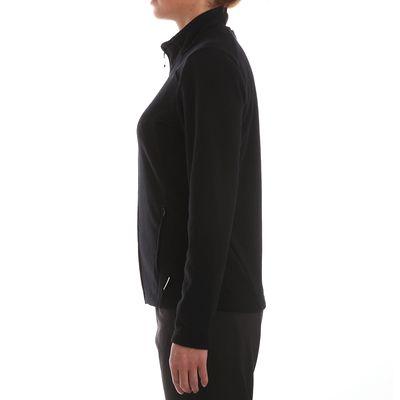 Veste polaire de randonnée montagne femme Forclaz 200 noir