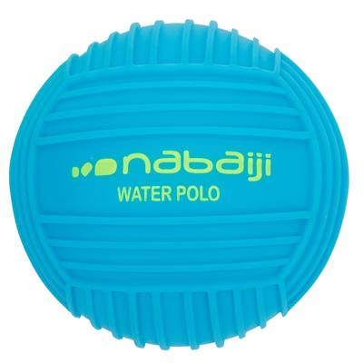 Petit ballon piscine adhérent uni bleu
