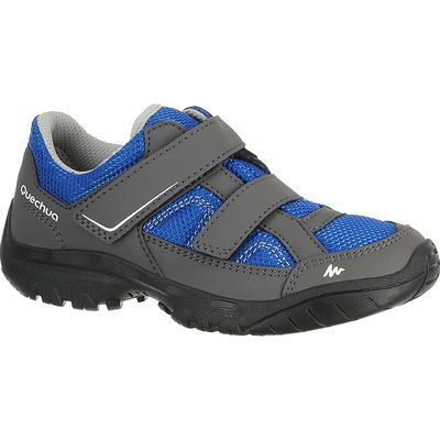 Chaussure Randonnée Enfant Arpenaz 50 Scratch Bleu