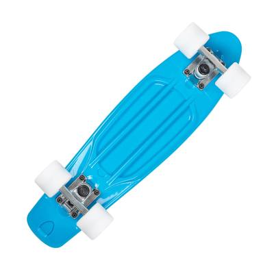 Skateboard junior plastique Bleu
